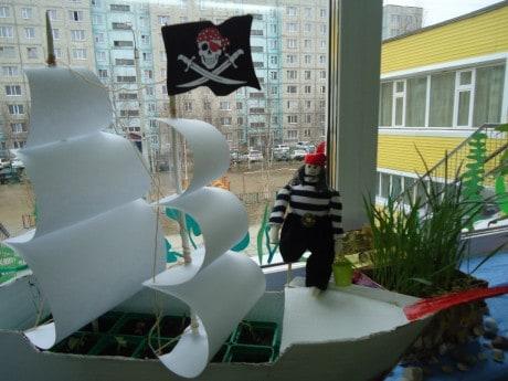 Сказка для старшей группы в детском саду «Морское путешествие овощей»