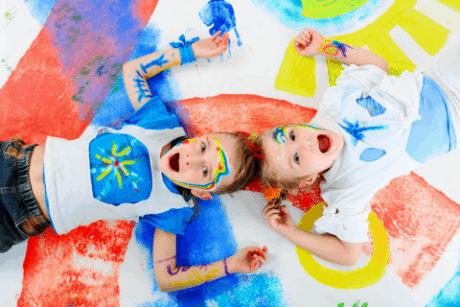 Проект «Нетрадиционные техники рисования - разноцветный мир чудес»