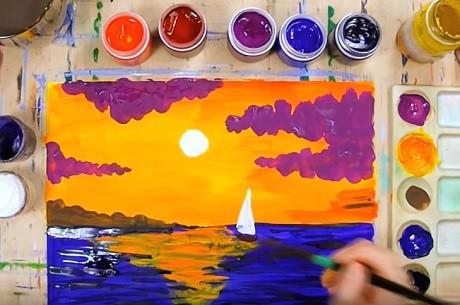 Занятие по ИЗО в ДОУ для детей 5-7 лет.  Конспекты занятий по изобразительному искусству.