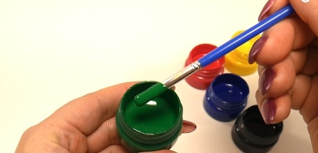 занятие знакомство детей с красками