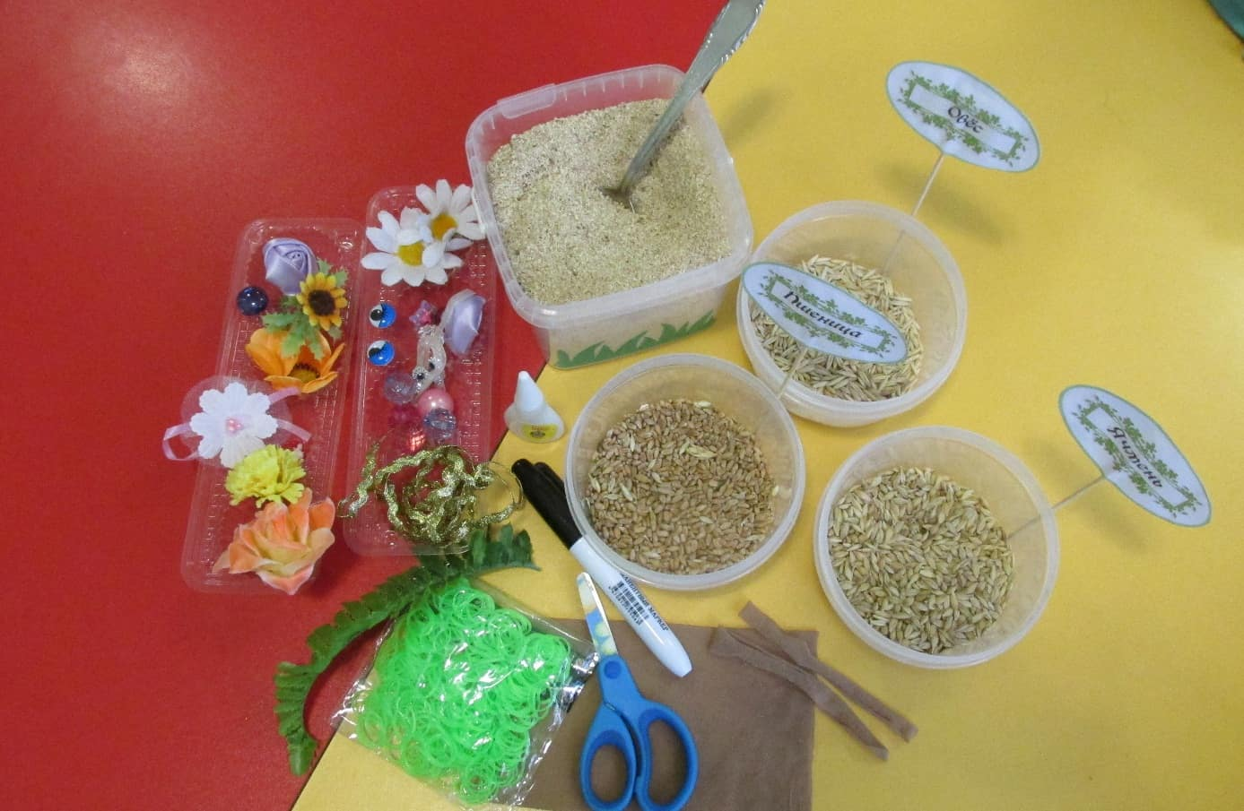 Изготовление экологической игрушки для детей подготовительной группы «Травянчик» (для детей старшего дошкольного возраста)